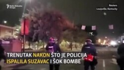 Louisville: Suzavac, šok bombe i pucnjava