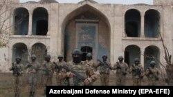 Азербайджанские военнослужащие в Агдаме, 20 ноября 2020 г․