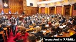 Poslanici u Skupštini Srbije, 22. oktobar