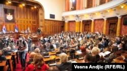 Parlament Srbije, Beograd, oktobar 2020.