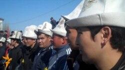 Opposition Demonstration In Osh