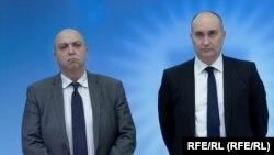 Ираклий Карселадзе и Джуаншер Бурчуладзе