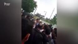 "Акция протеста у офиса компании ""Фароз"""