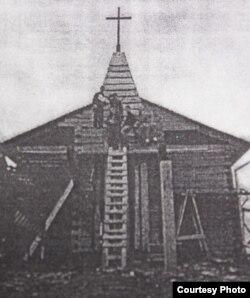 Строительство костела в Белостоке (начало ХХ века)