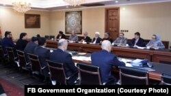 کمیته شورای عالی مصالحه و حکومت افغانستان برای نهایی سازی طرح صلح
