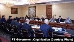 نشست کمیته شورای عالی مصالحه و حکومت افغانستان برای نهایی سازی طرح صلح