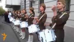 Факельное шествие в честь Дня Победы