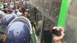 Ադրբեջանում բողոքի ակցիաները ճնշվում են ոստիկանության կողմից