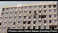 "Granatirana zgrada bivše Vojne bolnice (Opće bolnice ""Prim.dr. Abdulah Nakaš"")"