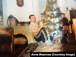 Владимир с дочкой