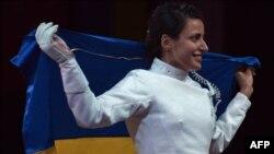 Яна Шемякіна після перемоги в Лондоні, 30 липня 2012 року