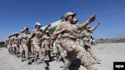Kurdet femra, gjatë ushtrimeve në veri të Irakut