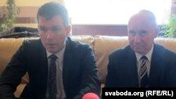 Турб'ёрн Сульстрэм (зьлева) і Яраслаў Браткевіч (справа)