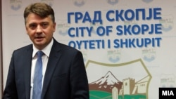Архива - Градоначалник на Град Скопје Петре Шилегов.
