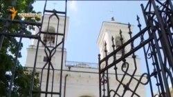 Крест на церковном имуществе