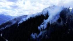 Wildfires Devastate Kosovo Mountains