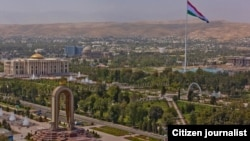 Шаҳри Душанбе, пойтахти Тоҷикистон