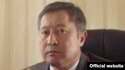 Талант Исаев, бывший начальник управления службы охраны МВД Кыргызстана.