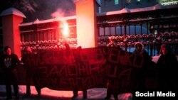 Акція на підтримку Надії Савченко у Москві, 25 грудня 2014