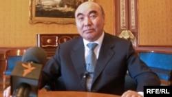 Аскар Акаев, бывший президент Кыргызстана.