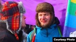 Активист российского ЛГБТ-движения Алексей Кисилев.