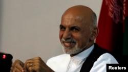 Кандидат в президенты Афганистана Ашраф Гани. Кабул, 26 июня 2014 года.