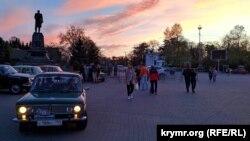 Площа Нахімова в Севастополі, архівне фото