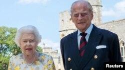 Напередодні Букінгемський палац оприлюднив фото королеви з чоловіком, зроблене 6 червня