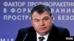 Ресейдің бұрынғы қорғаныс министрі Анатолий Сердюков.