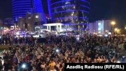 """Bakıda """"Orduya dəstək"""" aksiyası, 14 iyul 2020"""
