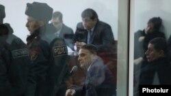 Валерий Осипян дает показания в суде, 6 февраля 2019 г.