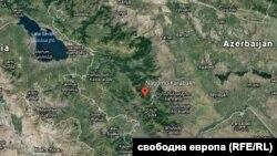 Регионът Нагорни Карабах е зона наконфликт между Азербайджан и Армения