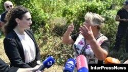 Госминистр Кетеван Цихелашвили пообещала местным жителям поддержку государства