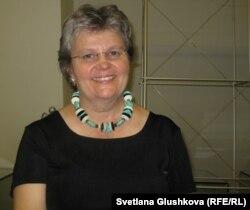 Барбара Хоган, соратница Нельсона Манделы. Астана, 18 июня 2012 года.