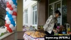 Избирательный участок в Севастополе, 18 марта 2018 год