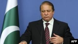 Pakistani Prime Minister Nawaz Sharif (file photo)