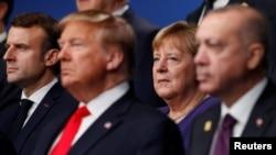 Встреча лидеров стран НАТО в Лондоне, 4 декабря 2019 года.
