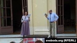 Аўтар перакладу п'есы Станіслава Высьпянскага Лявон Баршчэўскі прыняў удзел у публічным чытаньні твору.