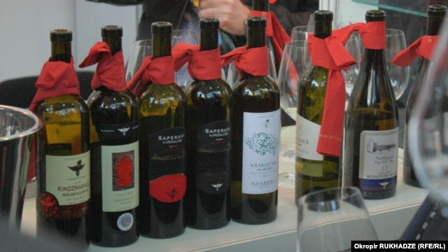 Georgian wines, ready for export (file photo)