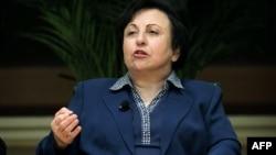 Iranian Nobel Peace Prize laureate Shirin Ebadi