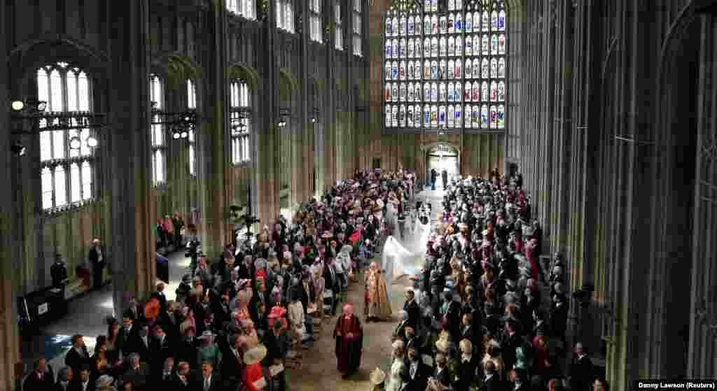 Каплиця святого Георгія, де і відбувається урочиста церемонія