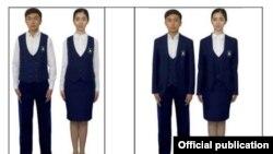 Новая школьная форма в Узбекистане.