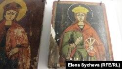Икона Святой Екатерины. Из коллекции музея