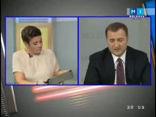 Moldova în Direct cu liderul PLDM Vlad Filat