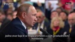 Putin o uzastopnim predsedničkim mandatima