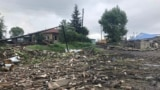 RUSSIA - A view of the debris in the flood-hit town of Tulun