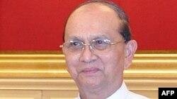 Претседателот на Бурма, Теин Шеин