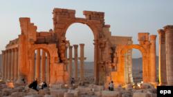 Սիրիա - Պալմիրայի Հաղթական կամարը, արխիվ