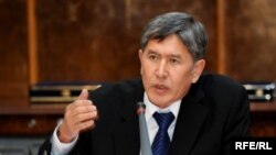 Almazbek Atambaev (pictured) ran against Kurmanbek Bakiev for the presidency in 2009, a vote that the opposition said was stolen.