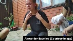 Софико Арифджанова после нападения. Фото: Александр Савельев